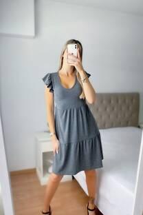 Vestido -Morley- -Triple capa- -