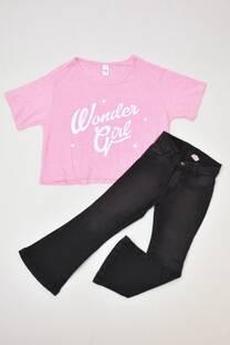 Promo pack remera pupera + jeans Oxford línea juvenil  -