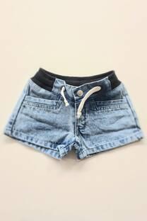 Short jean cordones bebe -