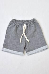 shorts de algodón rústico línea bebé