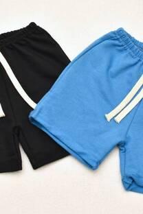 Promo pack 2 shorts de algodón rústico línea bebé