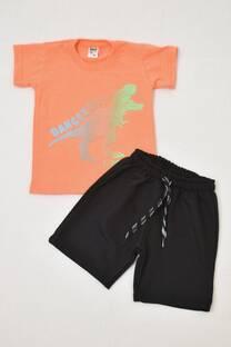 Promo pack remera niño + short rústico