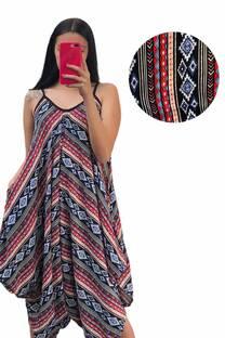 Enterito Mujer con bolsillo Fibrana Incaico -