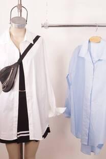 Camisas Maxi Poplin Elastizado -