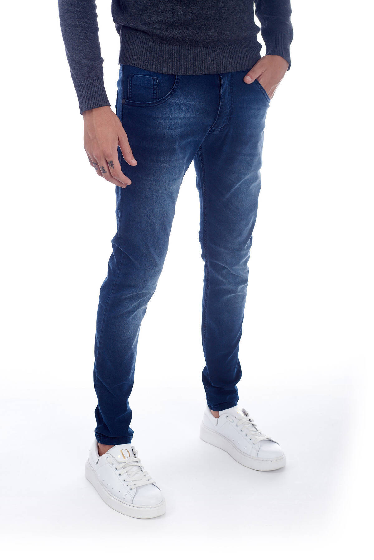 Imagen producto JEANS BLUE. SKINNY. CHUPIN  5