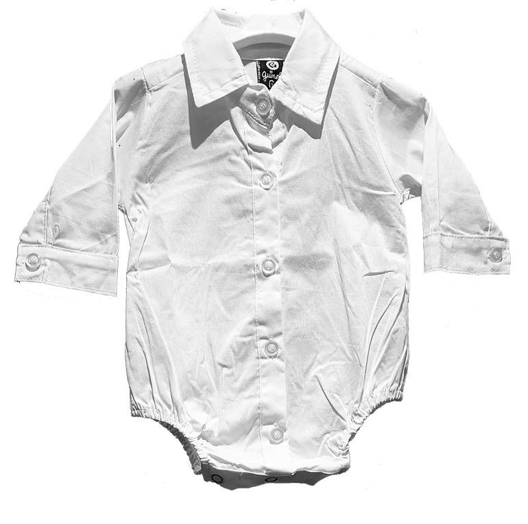 Imagen carrousel Body camisa mini bb poplin liso ml 1