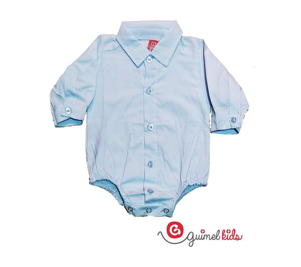 Imagen carrousel Body camisa mini bb poplin liso ml 0