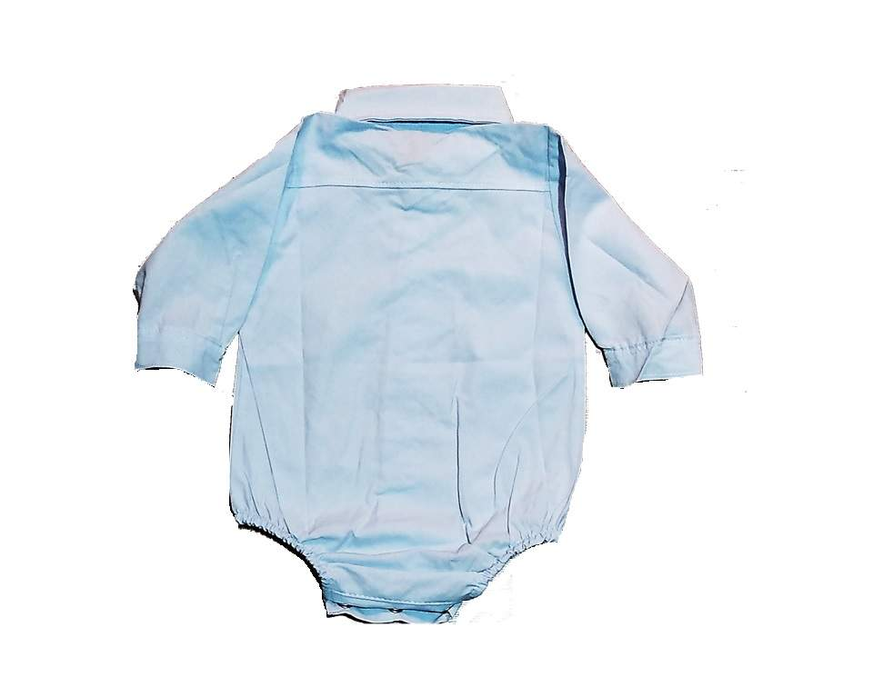Imagen carrousel Body camisa mini bb poplin liso ml 2