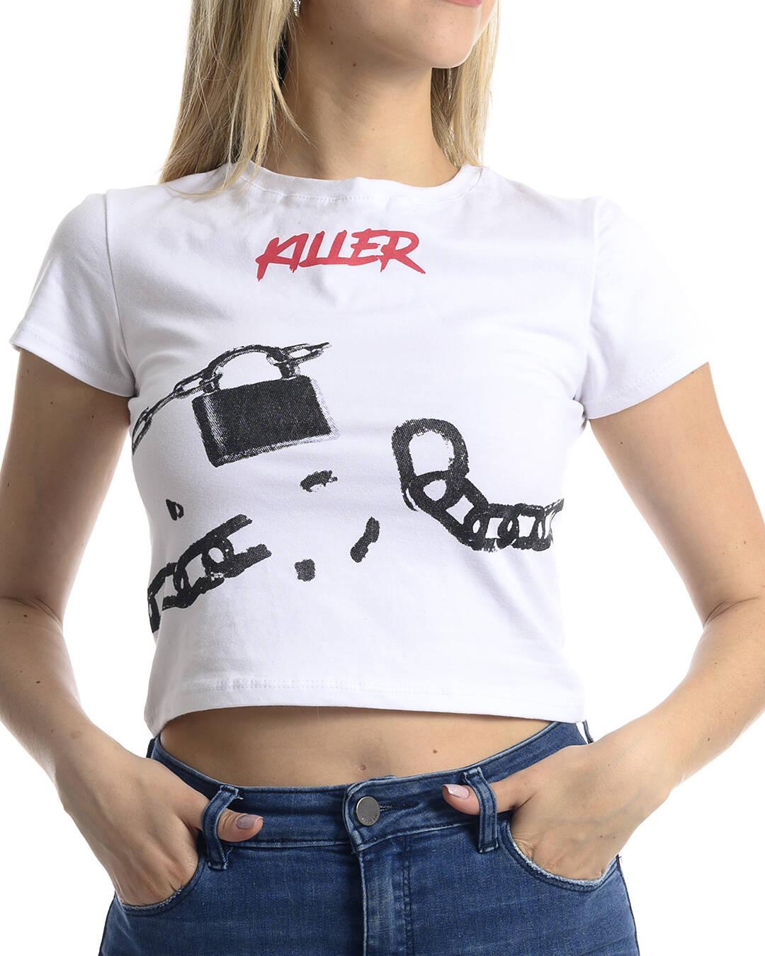 Imagen carrousel REMERA ALGODON KILLER  CANDADO 5
