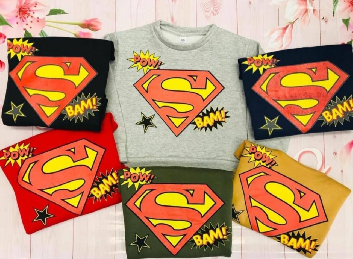 Imagen producto Buzo Superman friza 5