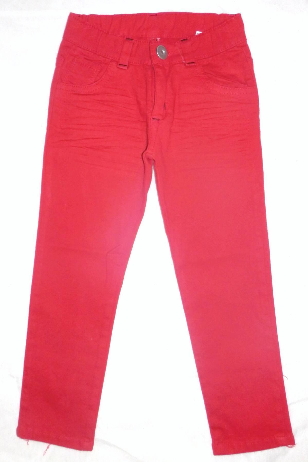Imagen producto Pantalón niño de gabardina elastizada 2