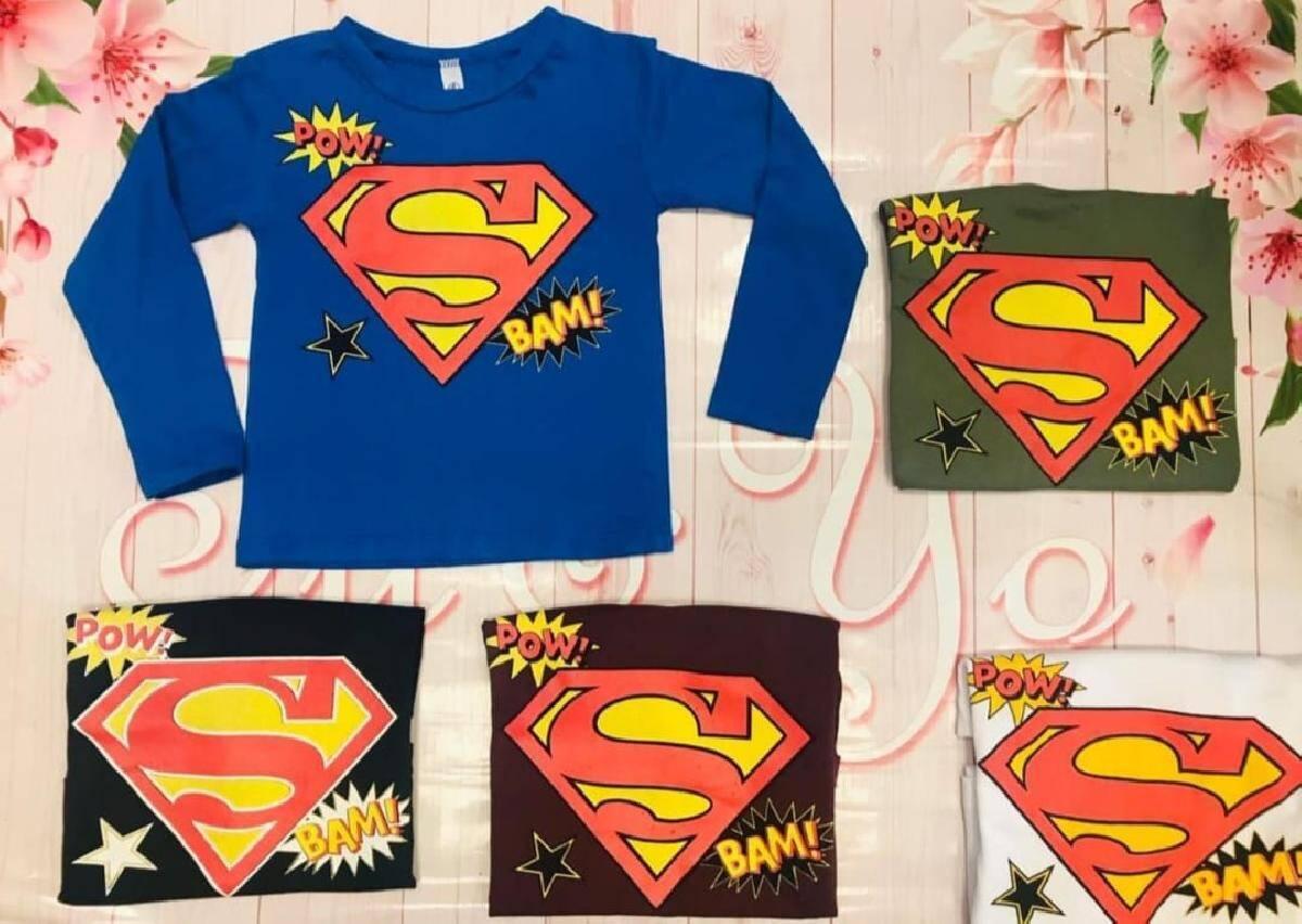 Imagen producto Camiseta Superman 3