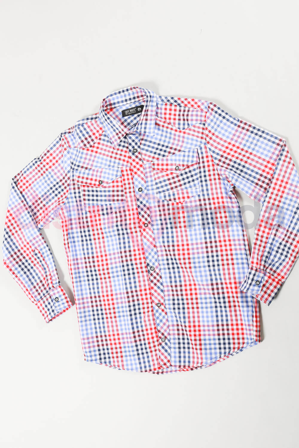 Imagen producto Camisa Escocesa Talle XS a XLL 4