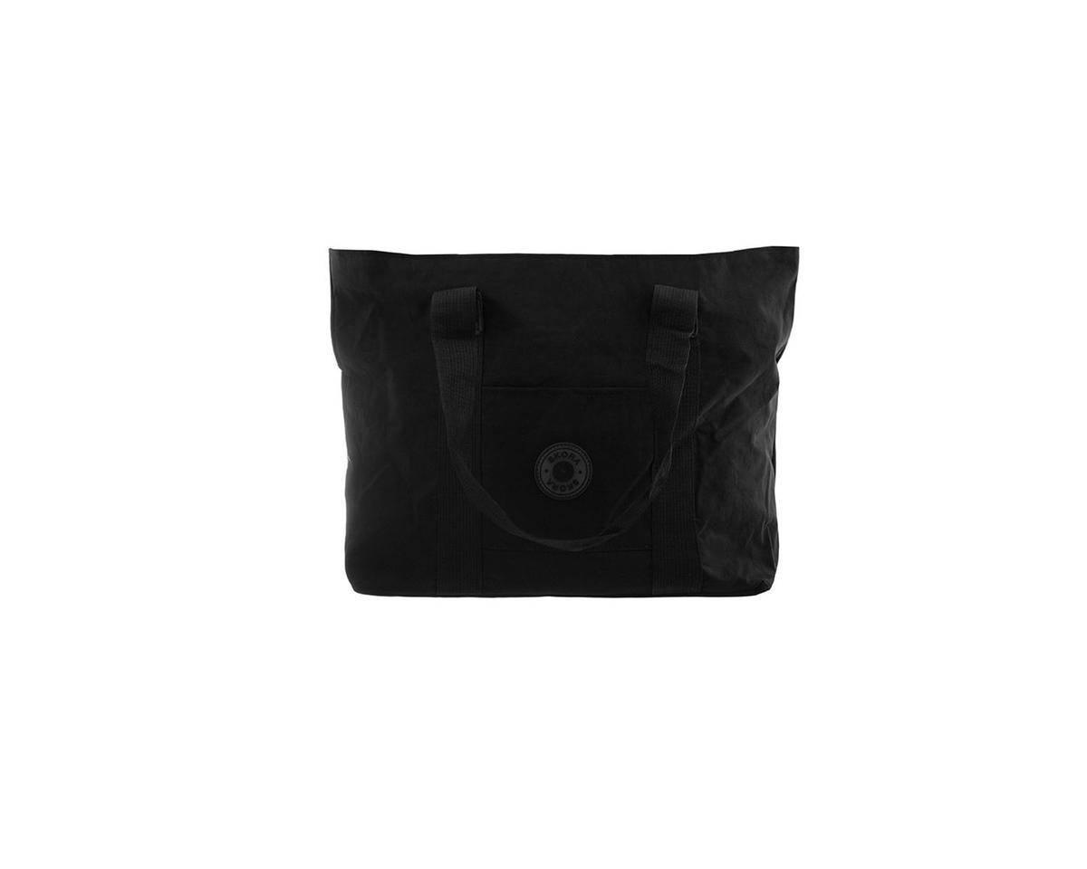 Imagen producto Cartera tela impermeable con bolsillo interno, trasero, y frontal. Manijas de agarre.  Medidas: 30 cm x 45 cm 3