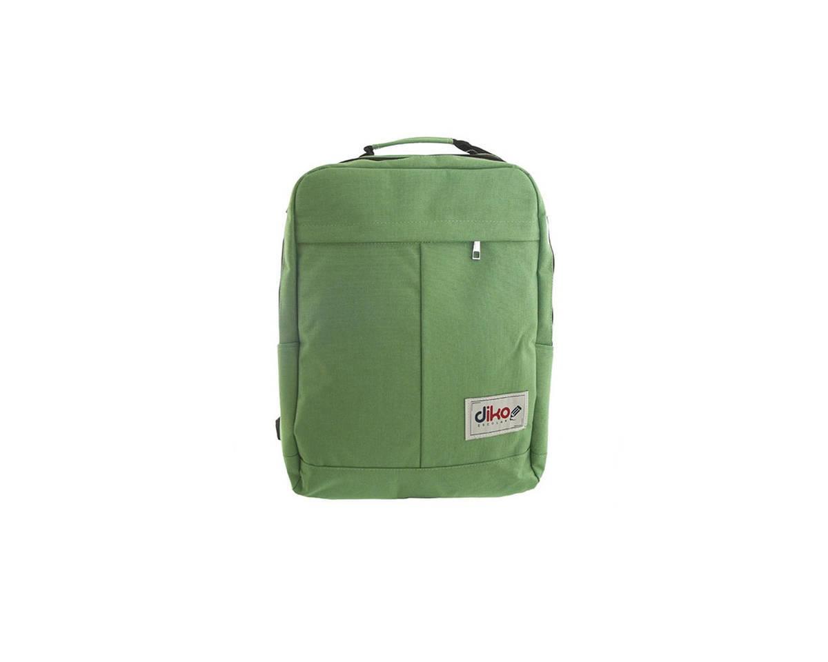 Imagen producto Mochila escolar reforzada de poliéster con bolsillo interno porta notebook, laterales, frontal y tiras regulables.  Medidas: 45 cm x 25 cm. 0