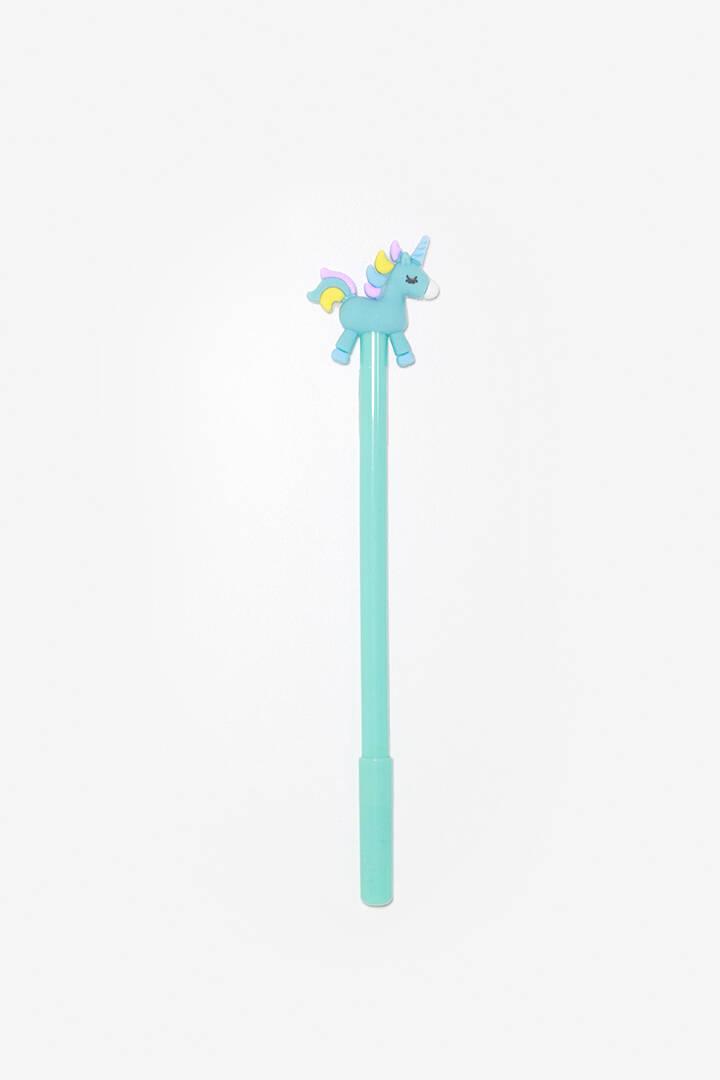 """Imagen producto Lapicera con terminación en forma de """"Unicornio"""", tinta azul. 2"""