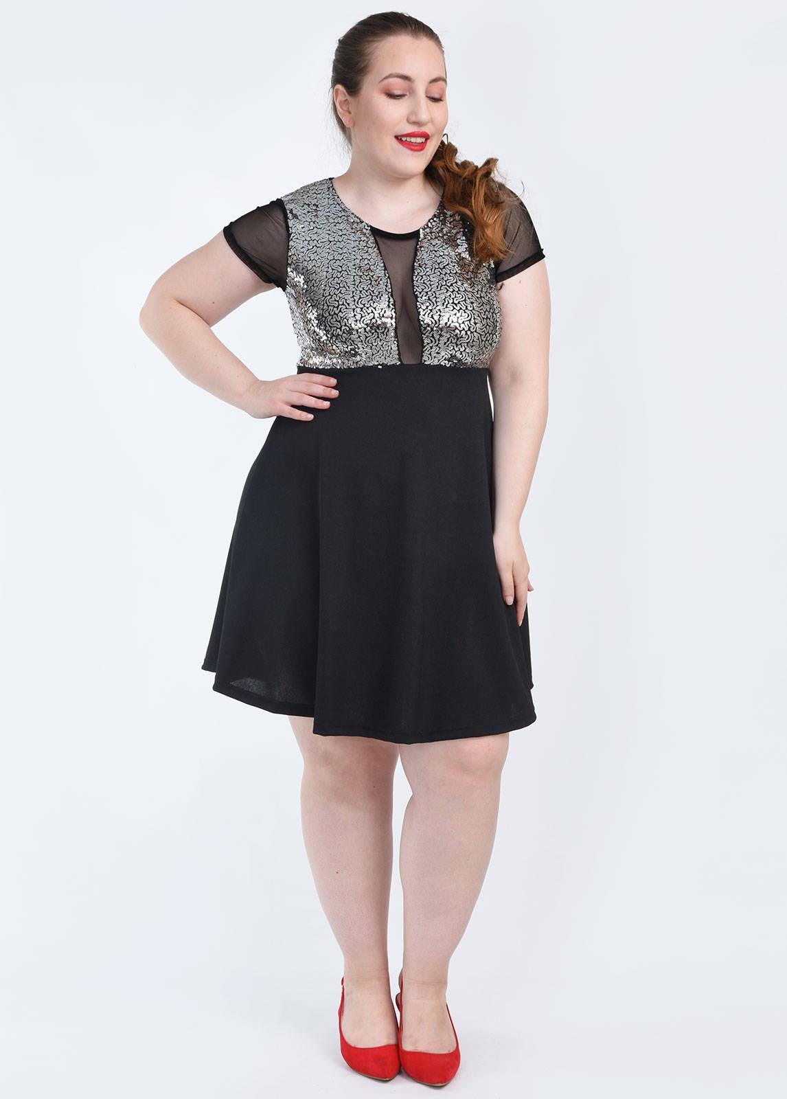 Imagen producto Vestido lentejuelas 14