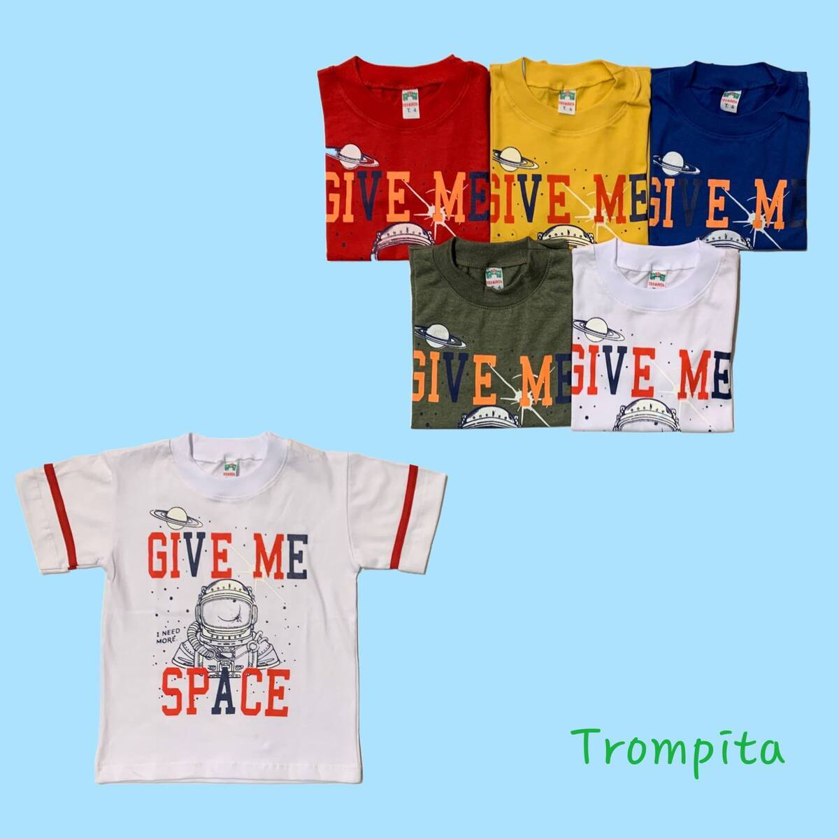 Imagen producto Remera niño GIVE ME SPACE 29