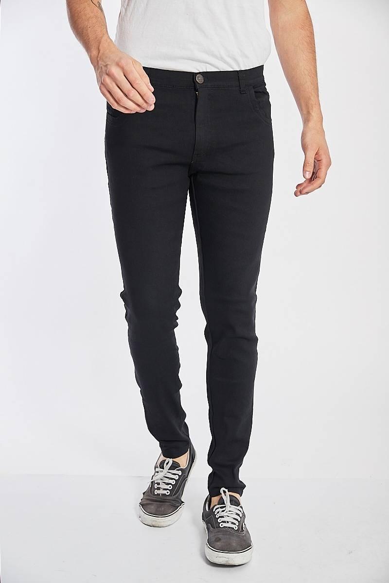 Imagen producto Jean elastizado negro 12