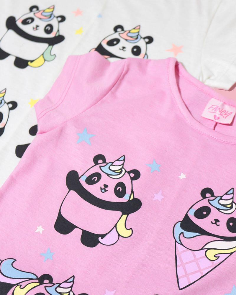 "Imagen carrousel Remera Kendra ""Pandas"" 2"