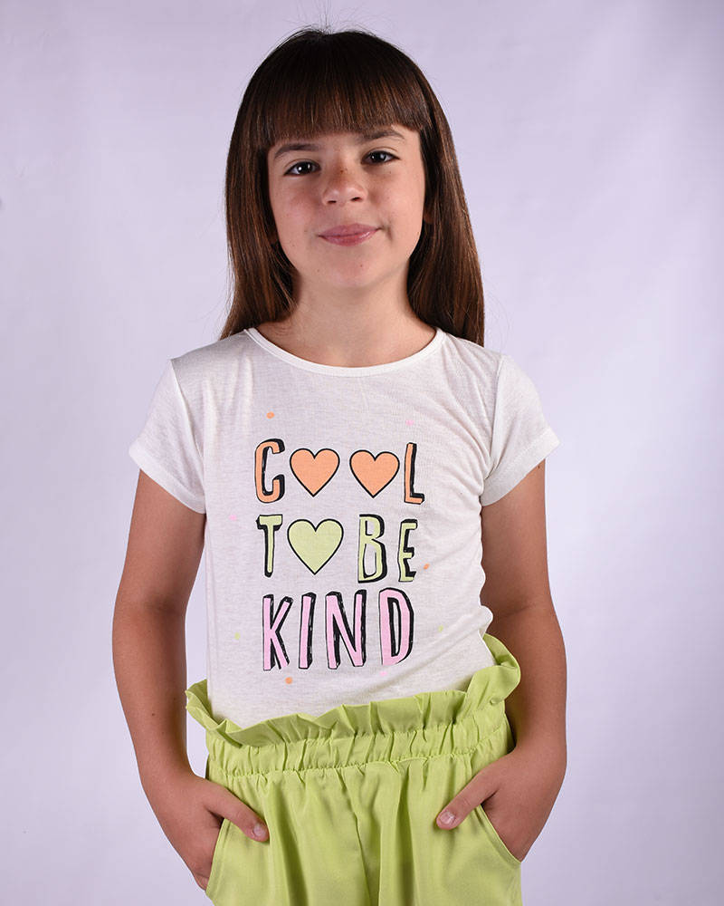 """Imagen producto Remera Kendra """"Cool to be kind"""" 11"""