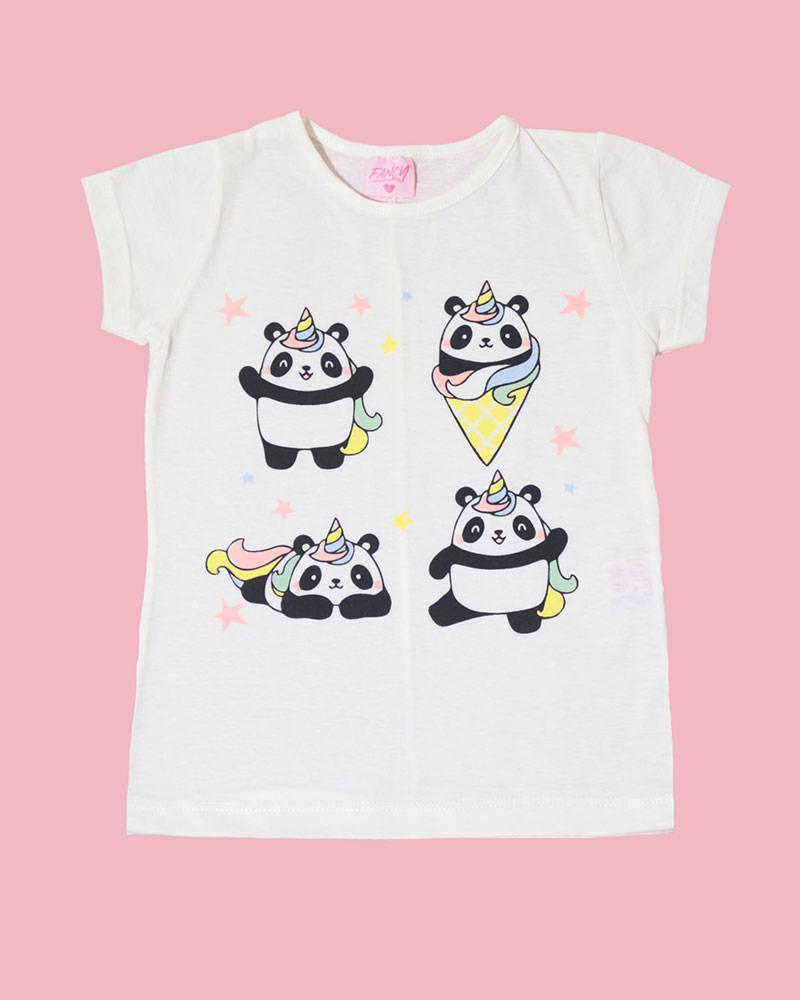 "Imagen carrousel Remera Kendra ""Pandas"" 1"