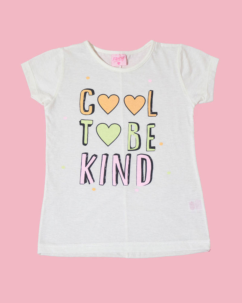 """Imagen carrousel Remera Kendra """"Cool to be kind"""" 3"""