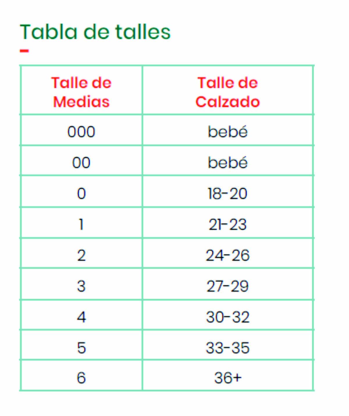 Imagen carrousel MEDIAS FINAS ESTAMPADAS - TALLE 18 - 20 1