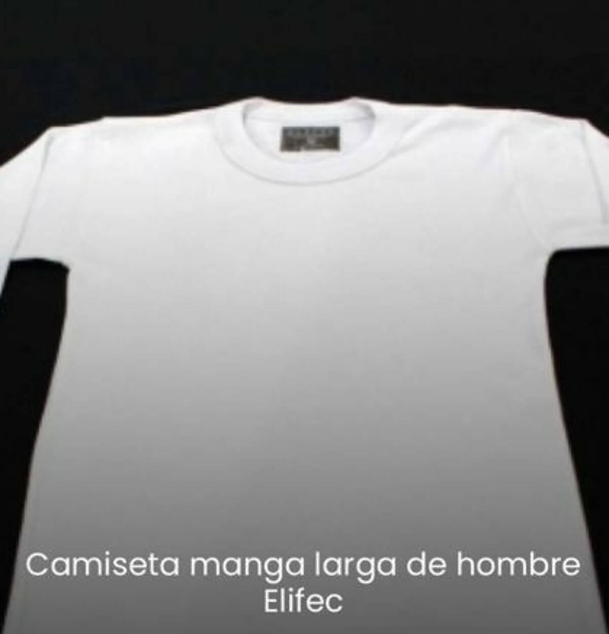 Imagen producto Camiseta hombre Interlock Elifek Art 6002 3