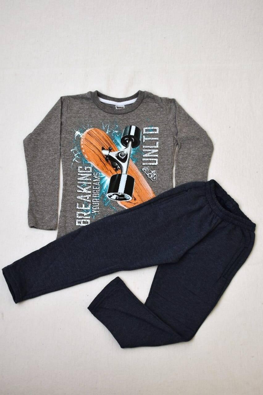 Imagen producto PACK por remera manga larga línea premium +pantalon de algodón con frisa 9