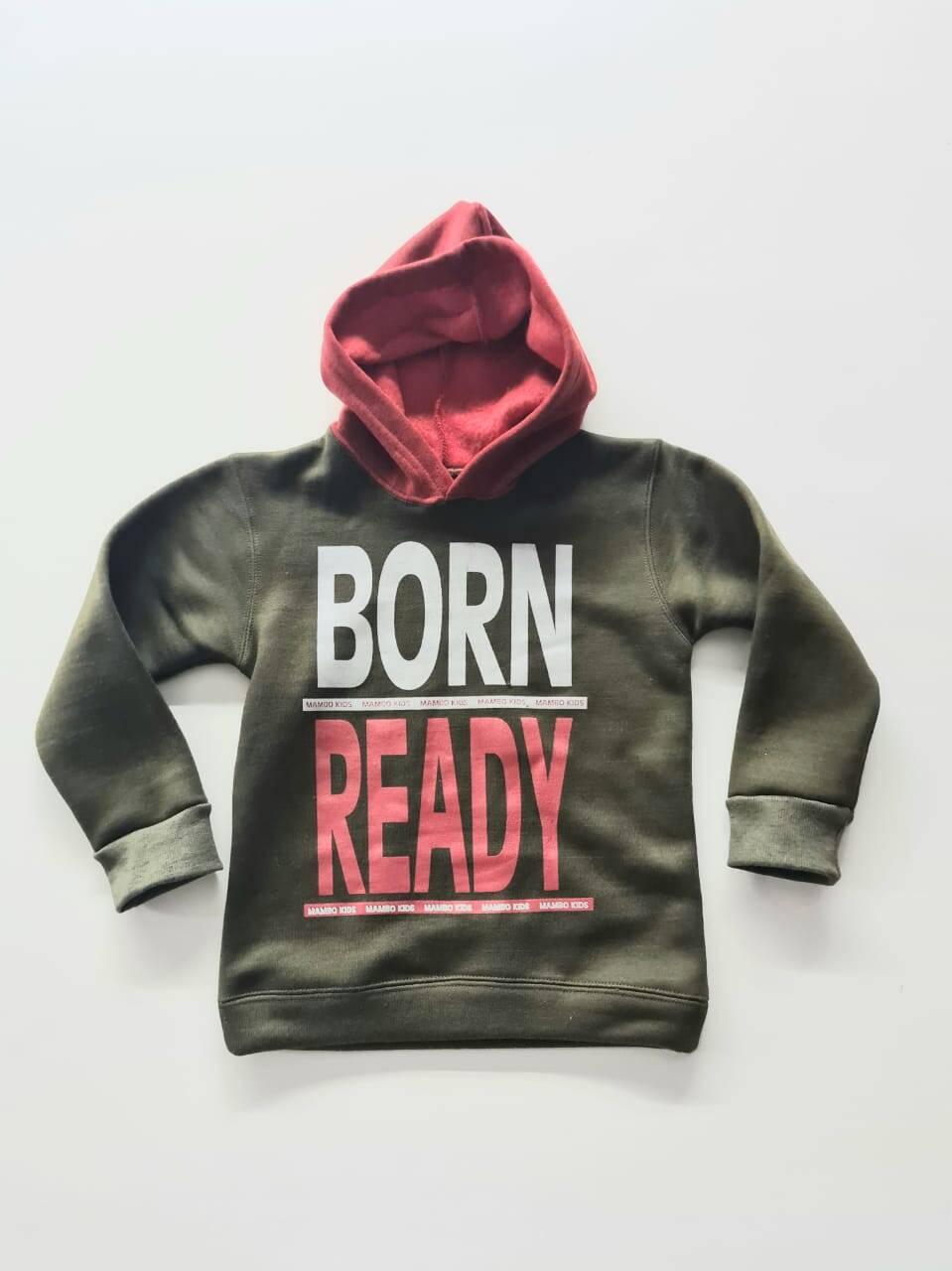 Imagen producto Buzo frizado Born con capucha Nene 11