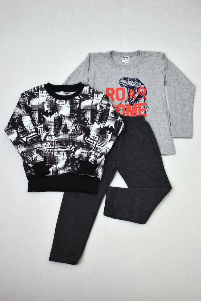 Imagen carrousel Promo pack buzo de friza + remera manga larga+ pantalón de friza  1
