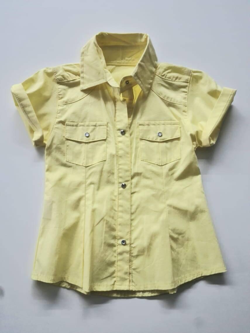 Imagen producto Camisa lisa nena 13